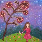 Art Print - Lila and the Bi..