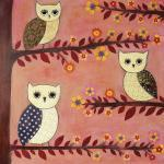 Art Print - Three Wise Owl..