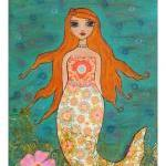Art Print - Whimsical Merma..