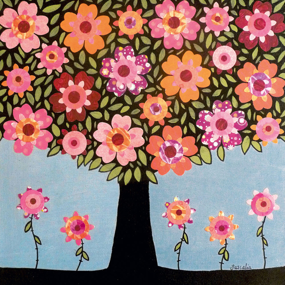 Art Print - Flowering Tree